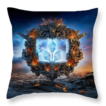 Mandalas 2 Throw Pillow