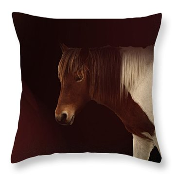 Mane Event Throw Pillow