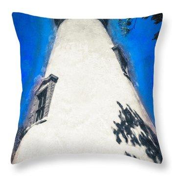 Marblehead Ohio Light Throw Pillow