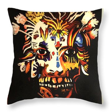 Mardi Gras Spirit 2013 Throw Pillow