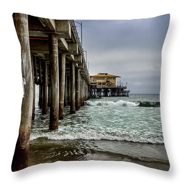 Mariasol On The Pier 2 Throw Pillow