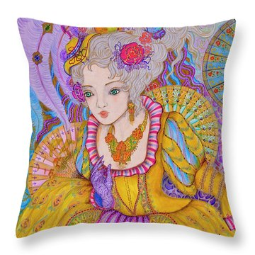 Marie Antinette Throw Pillow