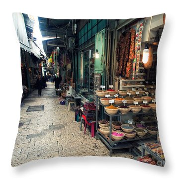 Roofs Throw Pillows