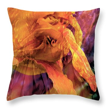 Marmalade Bloom Throw Pillow