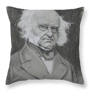 Martin Van Buren Throw Pillow