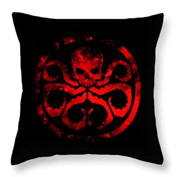 Marvelhydrashield Throw Pillow