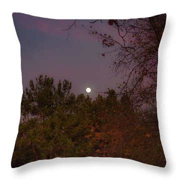 Marvelous Moonrise Throw Pillow