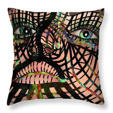 Mask I Am So Much More Than You See Throw Pillow