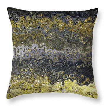 Throw Pillow featuring the painting Matthew 4 16. Light Has Dawned by Mark Lawrence