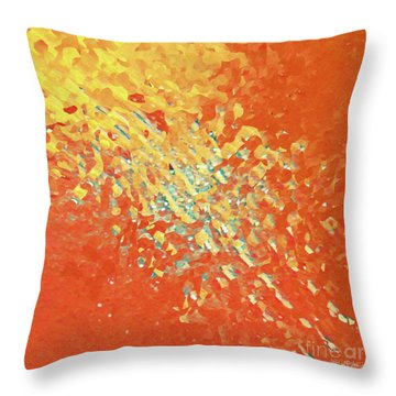 Matthew 6 13. The Glory Forever Throw Pillow