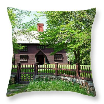 Matthew Whipple House Throw Pillow