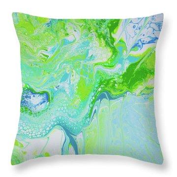 Maui - Land And Sea Throw Pillow