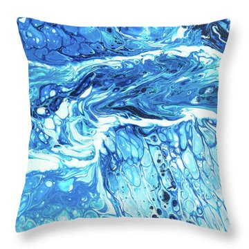Maui Tidepool II Throw Pillow