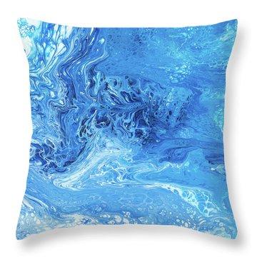 Maui Tidepool Throw Pillow