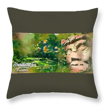 Mayan Heritage Throw Pillow