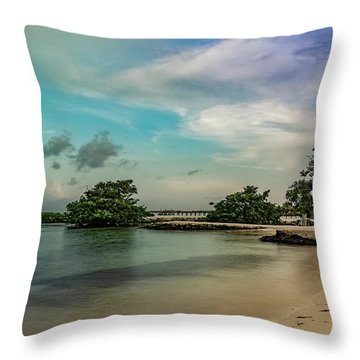 Mayan Shore 2 Throw Pillow