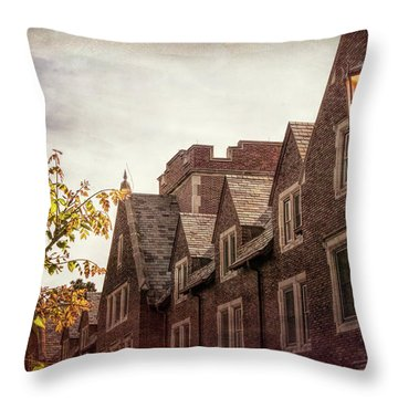 Mayslake Historic Home Throw Pillow