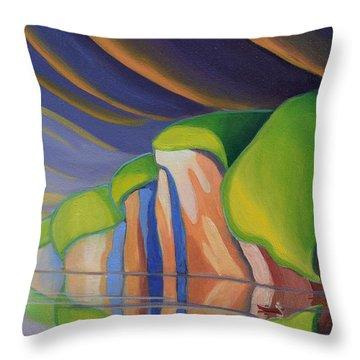 Mazinaw Rock I Throw Pillow