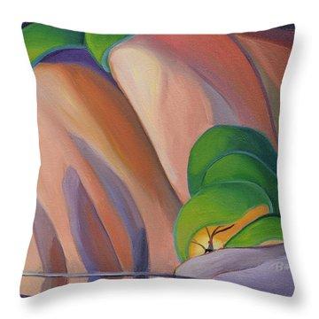Mazinaw Rock II Throw Pillow