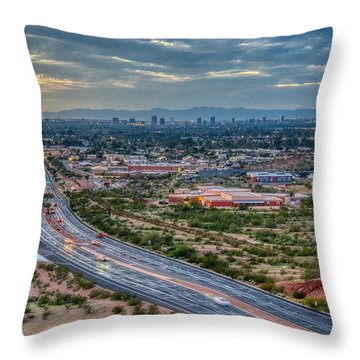 Mcdowell Road Throw Pillow