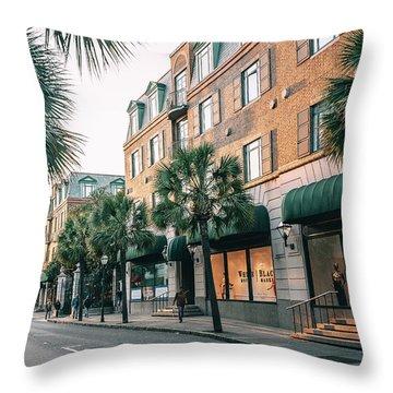 Meeting Street Throw Pillow