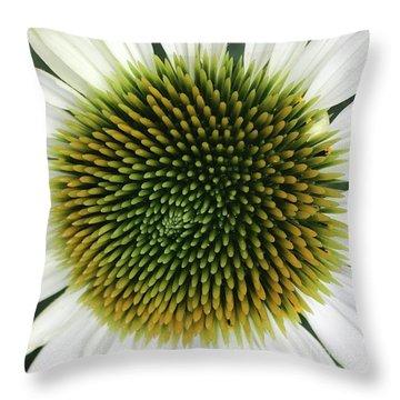 Mellow Macro Throw Pillow