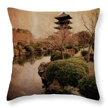 Memories Of Japan 2 Throw Pillow