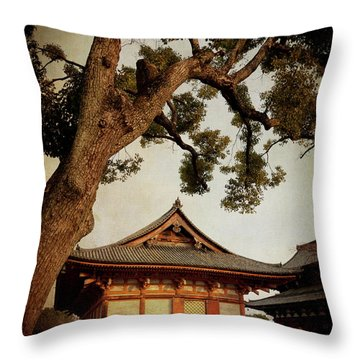 Memories Of Japan 3 Throw Pillow