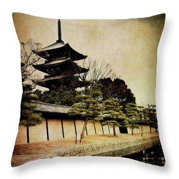 Memories Of Japan 4 Throw Pillow