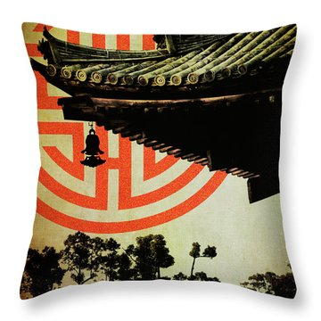 Memories Of Japan 5 Throw Pillow