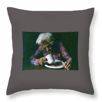 Memories Of Mama Throw Pillow