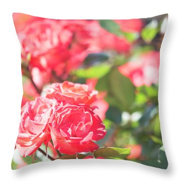 Throw Pillow featuring the photograph Memories Of Spring by Alex Lapidus