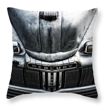 Mercury Eight Throw Pillow