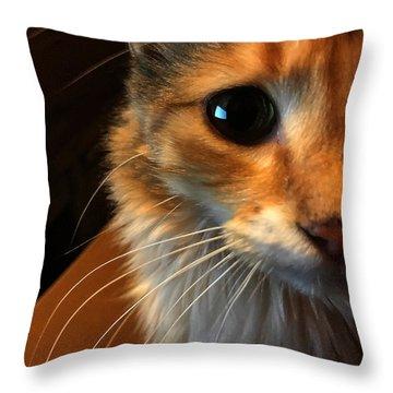 Mercy Throw Pillow