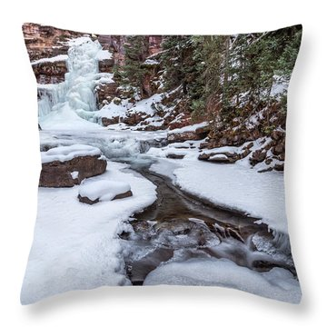 Mermaid's Tail Throw Pillow