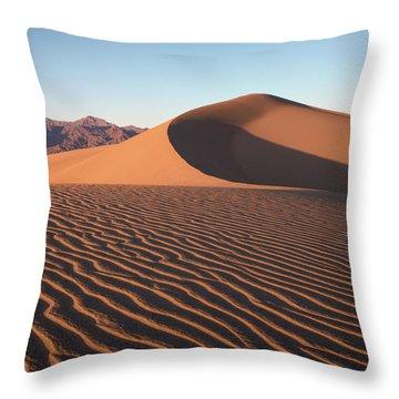 Mesquite Dunes 1-sq Throw Pillow