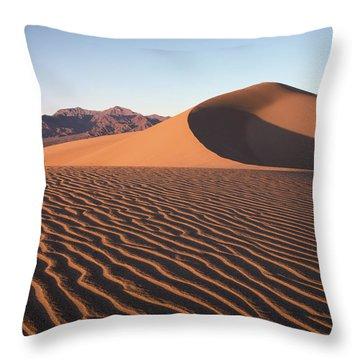 Mesquite Dunes 1 Throw Pillow