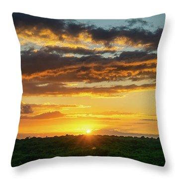 Mexico Sunset Full Throw Pillow