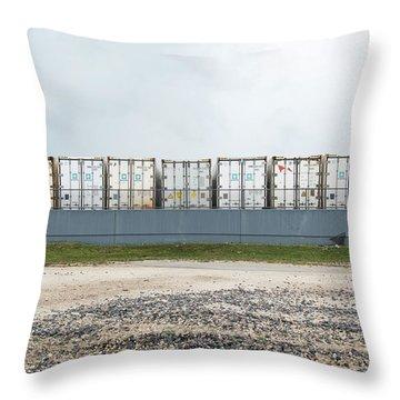 Miami Topographics 15 Throw Pillow