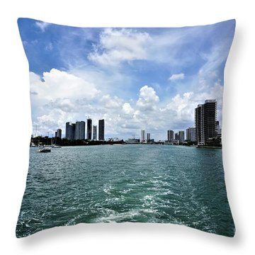 Miami2 Throw Pillow