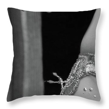 Mideastern Dancing 1 Throw Pillow