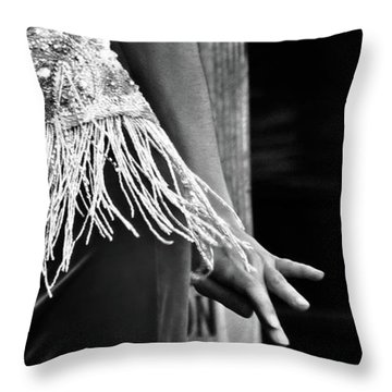 Mideastern Dancing 3 Throw Pillow