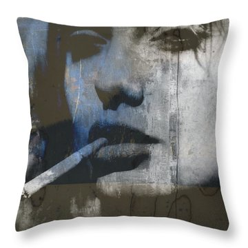 Midnight In Chelsea  Throw Pillow