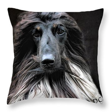 Midnight Jazz Throw Pillow