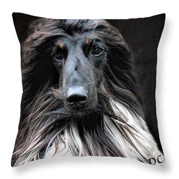Midnight Jazz Throw Pillow