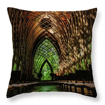 Mildred B. Cooper Memorial Chapel Throw Pillow