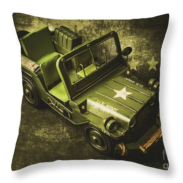 Jeep Throw Pillows
