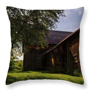 Miller Barn 1 Throw Pillow