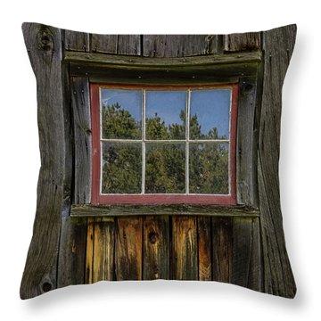 Miller Barn 2 Throw Pillow