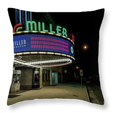 Miller Theater Augusta Ga 2 Throw Pillow